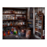 Science - Chemist - The secret of life Postcard