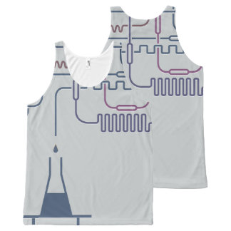 Science Chemistry All-Over-Print Tank Top