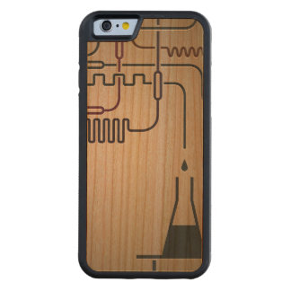 Science Chemistry Carved® Cherry iPhone 6 Bumper Case