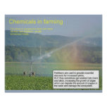 Science, Chemistry, Chemicals in farming Posters