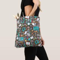 Science / Chemistry Pattern Tote Bag