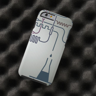 Science Chemistry Tough iPhone 6 Case