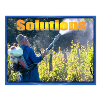 Science, Chemistry, Using Solutions Postcard