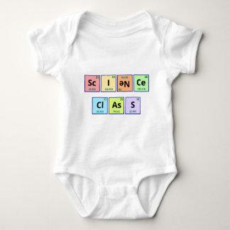 Science Class Baby Bodysuit