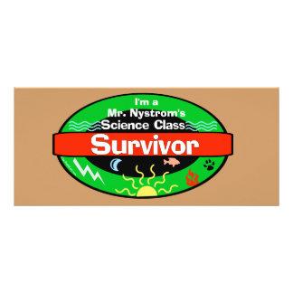 Science Class Survivor Including Periodic Table Rack Card