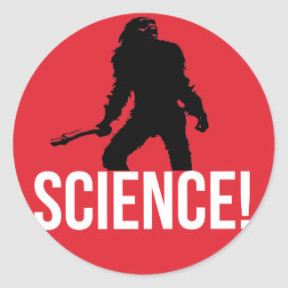 SCIENCE! CLASSIC ROUND STICKER