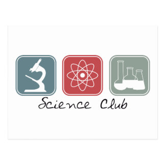 Science Club (Squares) Postcard