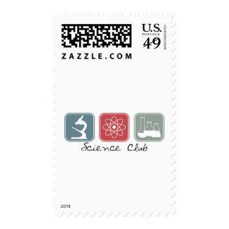 Science Club (Squares) Stamp