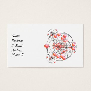 Professional Business Science Cluster Business Card