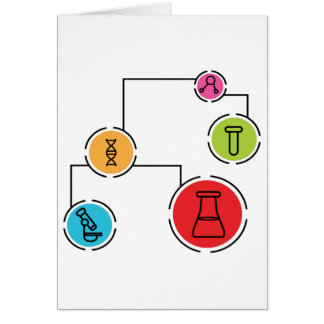 Science Data Chart Card