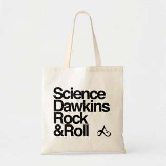 Science Dawkins rock and roll Canvas Bags