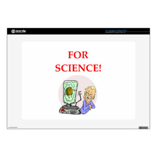 """science decal for 15"""" laptop"""