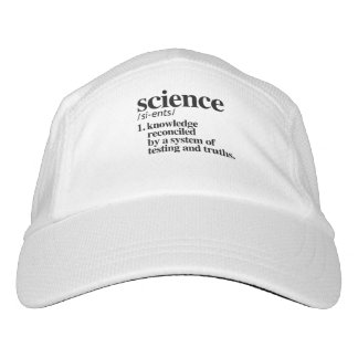 Science Definition - Knowledge reconciled by truth Headsweats Hat