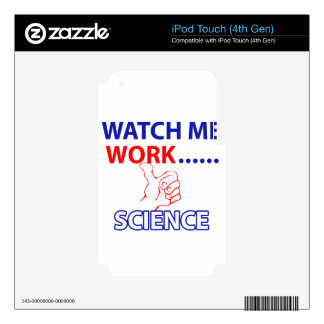 science design iPod touch 4G decal