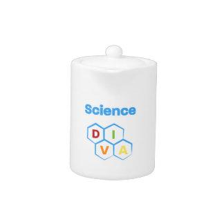 Science Diva Teapot
