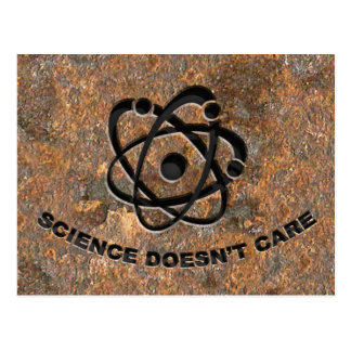 Science Doesn't Care Postcard