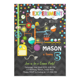 Science Party Invitations Announcements Zazzle