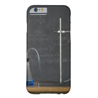 Science experiment in front of blackboard barely there iPhone 6 case
