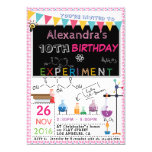 Hand shaped SCIENCE EXPERIMENT LABORATORY PARTY INVITATION |