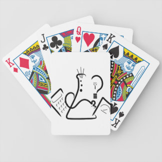 Science Fair Logo Bicycle Playing Cards