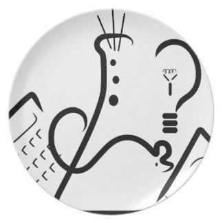Science Fair Logo Dinner Plate