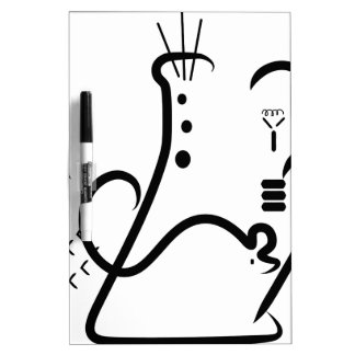 Science Fair Logo Dry-Erase Whiteboard