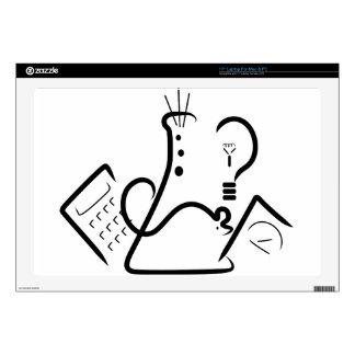 Science Fair Logo Laptop Skins