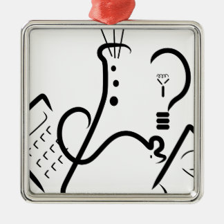 Science Fair Logo Metal Ornament