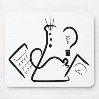 Science Fair Logo Mouse Pad