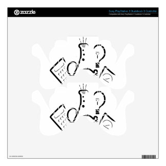 Science Fair Logo PS3 Controller Decal