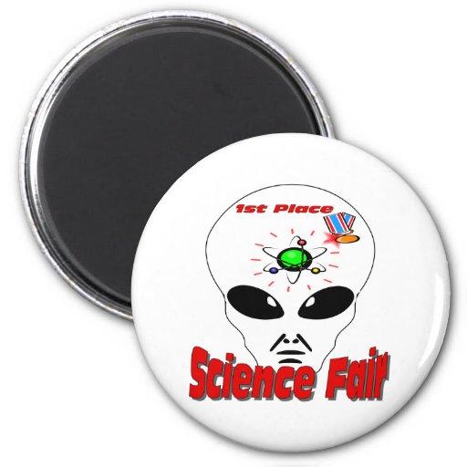 Science Fair Refrigerator Magnet