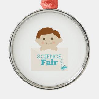 Science Fair Metal Ornament