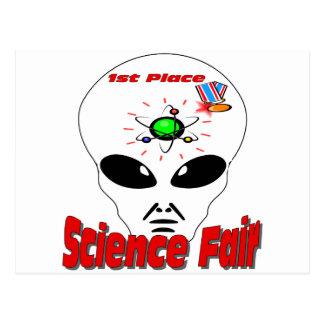 Science Fair Postcard