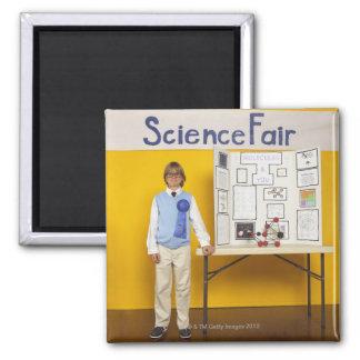 Science fair winner 2 inch square magnet