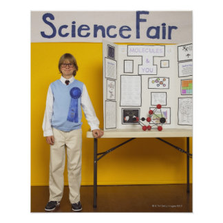 Science fair winner poster