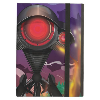 Science Fiction Alien Tripod Attack! Cover For iPad Air