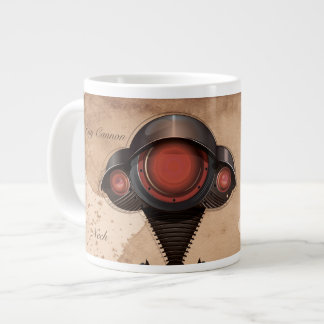 Science Fiction Alien Tripod Attack! Large Coffee Mug