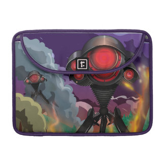 Science Fiction Alien Tripod Attack! Sleeve For MacBook Pro
