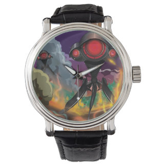 Science Fiction Alien Tripod Attack! Watches