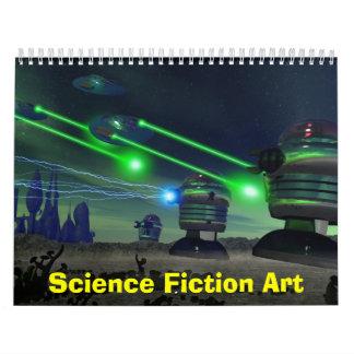 Science Fiction Art Calendar