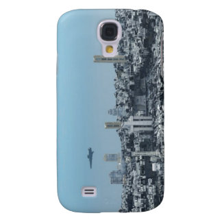 Science Fiction Cityscape Samsung Galaxy S4 Cases