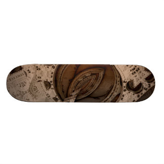 Science Fiction compass - compass Skateboard Deck
