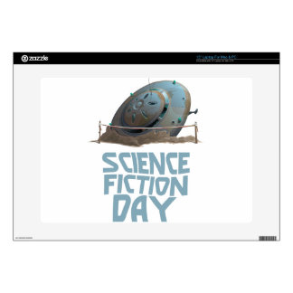"""Science Fiction Day - Appreciation Day Skin For 15"""" Laptop"""