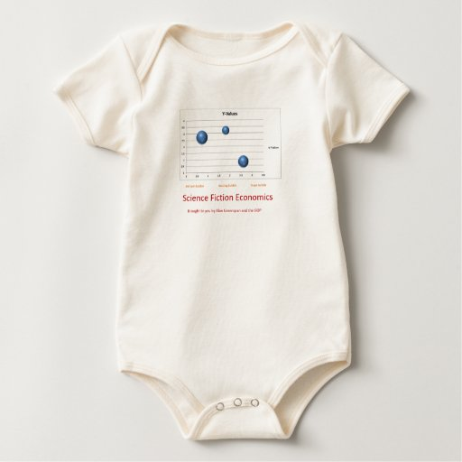 science fiction economics baby bodysuit