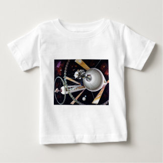 Science Fiction Space Station of Future Baby T-Shirt
