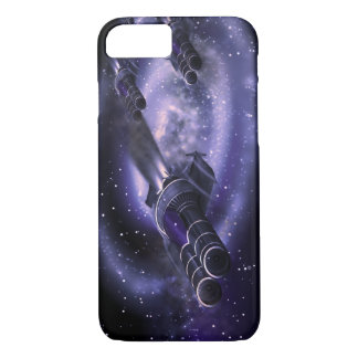 Science Fiction Spaceships iPhone 8/7 Case