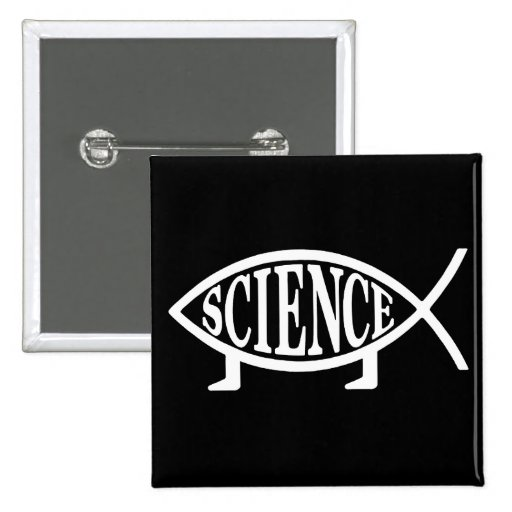 Science Fish Button