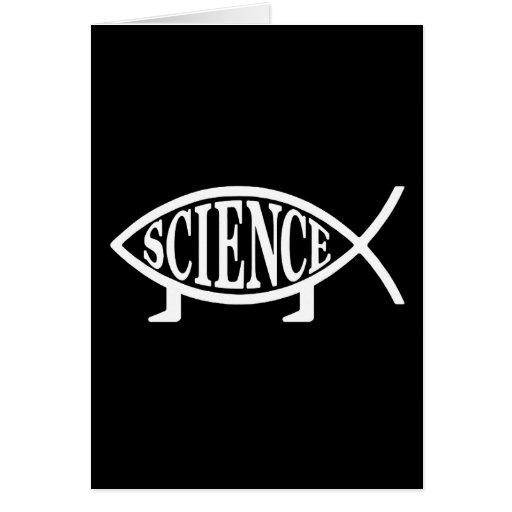 Science Fish Greeting Card