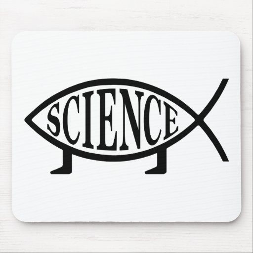 Science Fish Mouse Pad