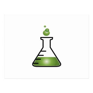 Science Flask Postcard